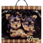 Пакет на пластиковой ручке «Honey» (36х37) 10 шт