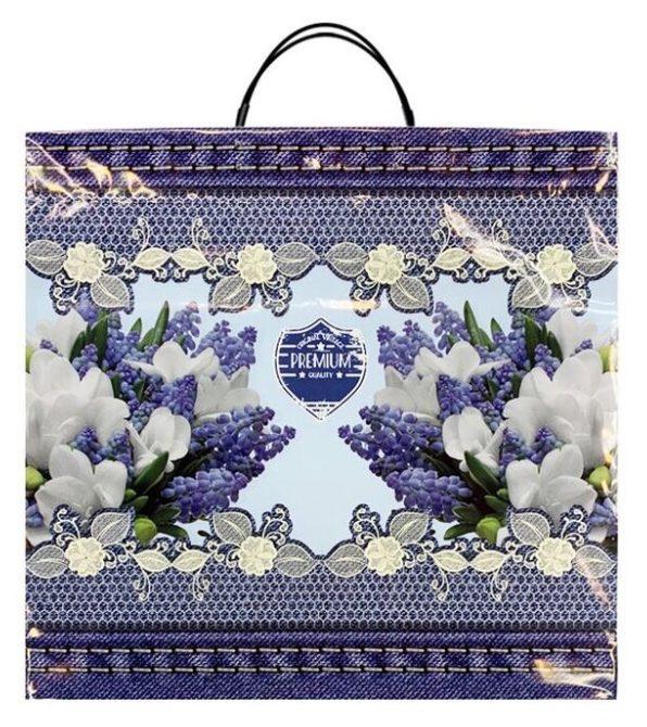 Пакет на пластиковой ручке «Premium Flower» (36х37) 10 шт