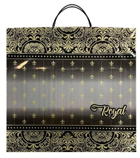 Пакет на пластиковой ручке «Royal» (36х37) 10 шт