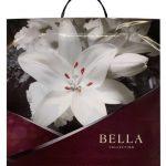 Пакет на пластиковой ручке «Bella» (40×40) 10 шт