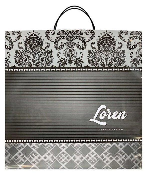 Пакет на пластиковой ручке «Loren» (40×40) 10 шт
