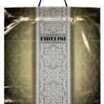 Пакет на пластиковой ручке «Fidelini» (40×45) 10 шт