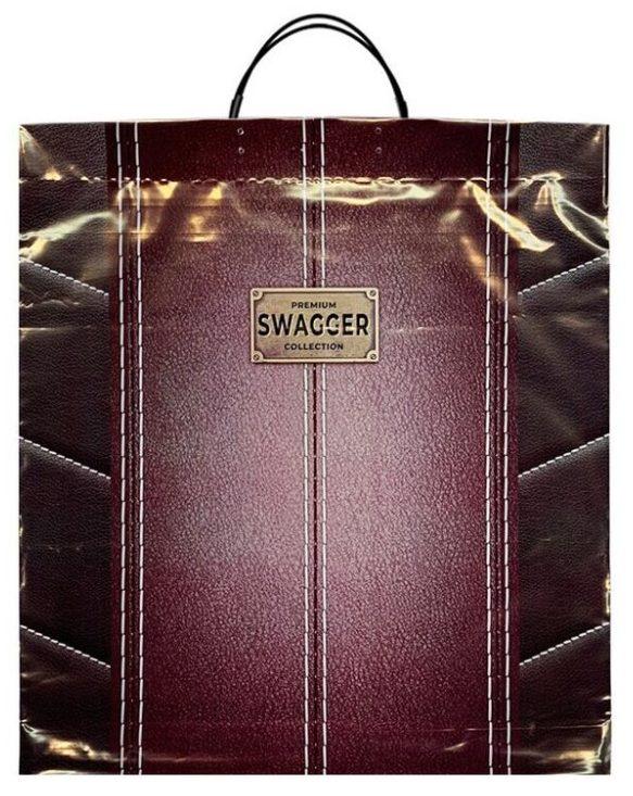 Пакет на пластиковой ручке «Swagger» (40×45) 10 шт