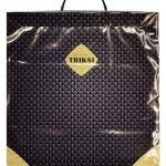 Пакет на пластиковой ручке «Triksi» (40×45) 10 шт
