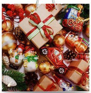 Подарочный пакет картонный «Чашка» NGЧ-008 (16х16х8)