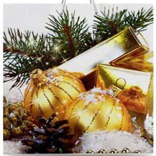 Подарочный пакет картонный «Чашка» NGЧ-007 (16х16х8)