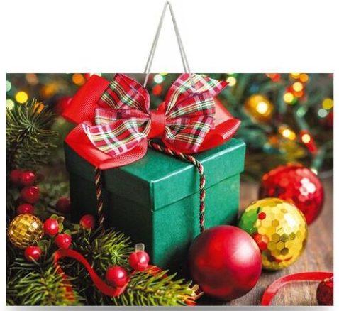 Подарочный пакет картонный «Большой Горизонтальный» NG 006 (36х22х10)