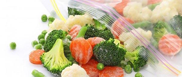 Заморозка продуктов в зип пакетах