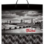 Пакет на пластиковой ручке «Thames» (40*40) 10 шт