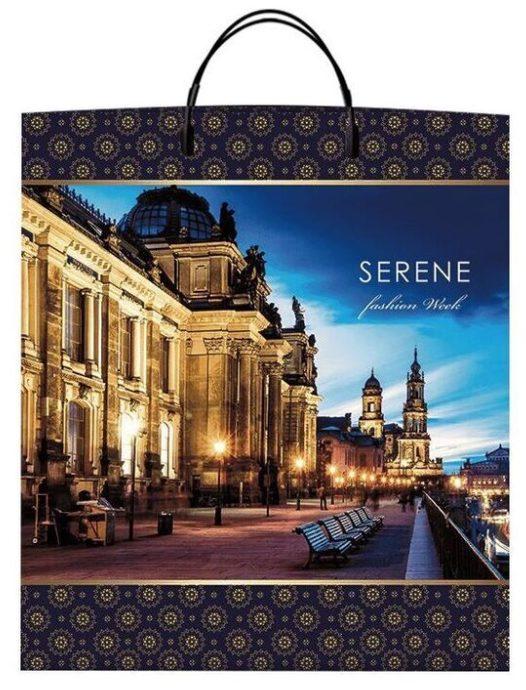 Пакет на пластиковой ручке «Serene» (40*45) 10 шт