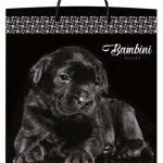 Пакет на пластиковой ручке «Bambini» (40*45) 10 шт