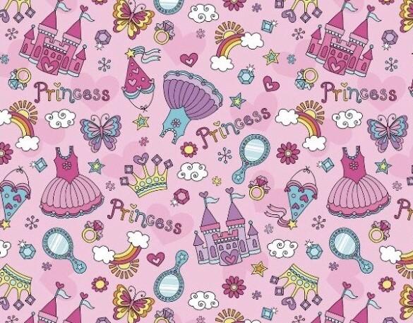 """Бумага Подарочная 64 """"Princess"""" (70х100)"""