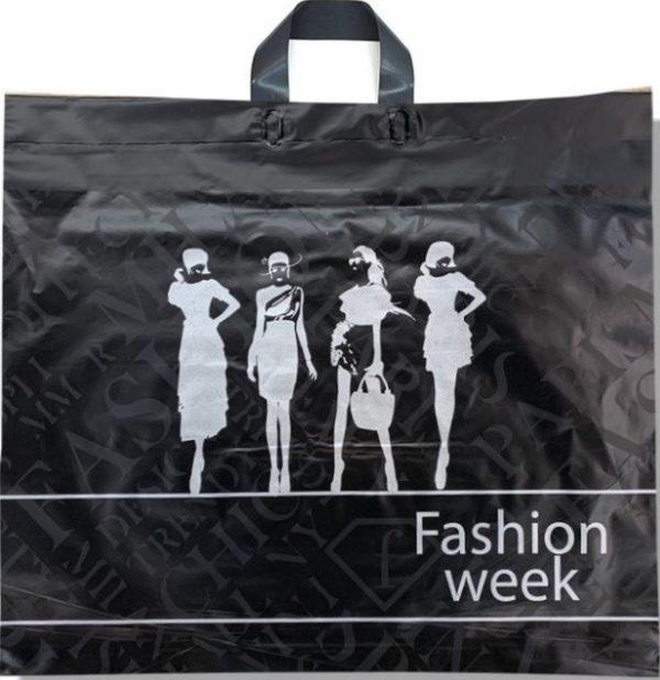 Пакет с петлевой ручкой «Fashion week» (60*50) 25 шт