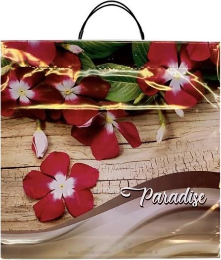 Пакет на пластиковой ручке «Paradise» (40*40) 10 шт