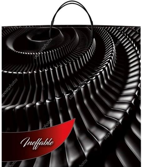 Пакет на пластиковой ручке «Ineffable» (40*40) 10 шт