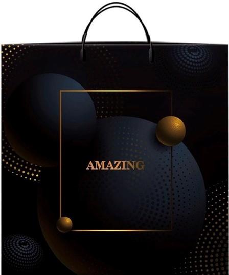 Пакет на пластиковой ручке «Amazing» (40*40) 10 шт
