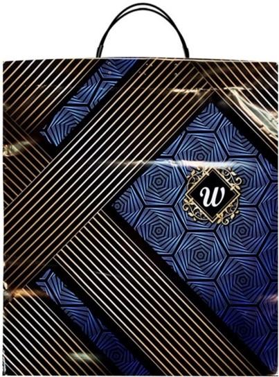 Пакет на пластиковой ручке «W» (40*45) 10 шт
