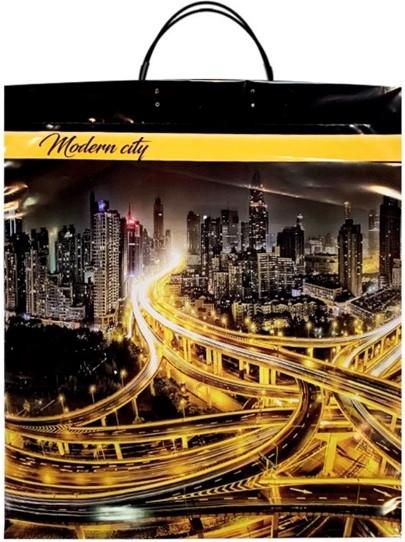 Пакет на пластиковой ручке «Modern City» (40*45) 10 шт