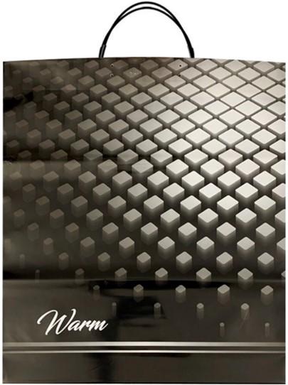 Пакет на пластиковой ручке «Warm» (40*45) 10 шт