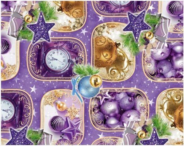 Бумага Подарочная новогодняя 41 (70х100)