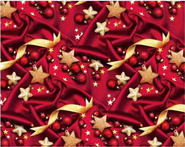 Бумага Подарочная новогодняя 43 (70х100)
