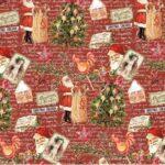 Бумага Подарочная новогодняя 46 (70х100)