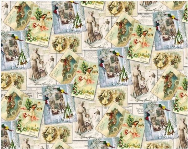 Бумага Подарочная новогодняя 47 (70х100)