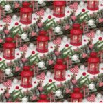 Бумага Подарочная новогодняя 48 (70х100)