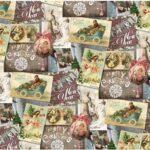 Бумага Подарочная новогодняя 50 (70х100)