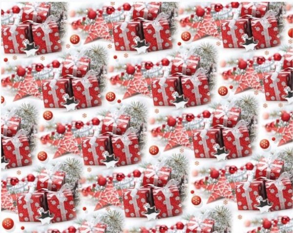 Бумага Подарочная новогодняя 54 (70х100)