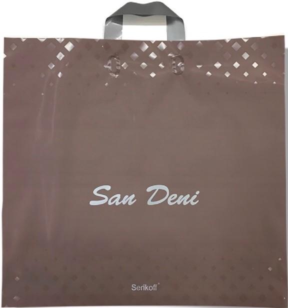 Пакет с петлевой ручкой тип «Serikoff» «San Deni» (50*47) 25 шт