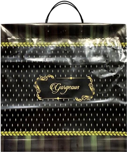 Пакет на пластиковой ручке «Gorgeous» (36*37) 10 шт